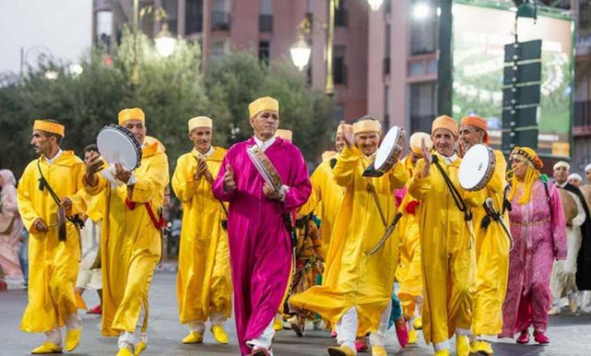 """""""إيقاعات أبدية"""" في مهرجان الفنون الشعبية بالمغرب"""