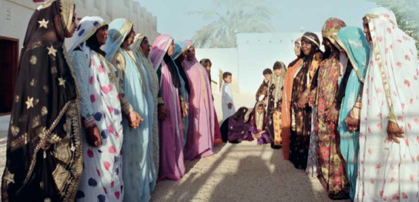 الفرق النسائية الشعبية في البحرين والمعروفة باسم (العدة)