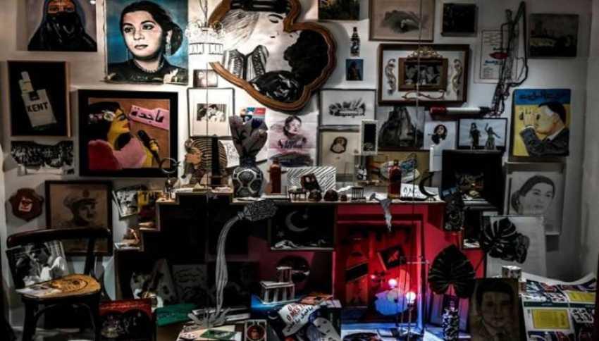 فنانات العالم العربي يسطعن في معرض باريسيّ